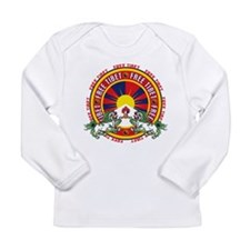 Free Tibet Snow Lions Long Sleeve Infant T-Shirt