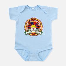 Free Tibet Snow Lions Infant Bodysuit