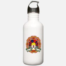 Free Tibet Snow Lions Water Bottle