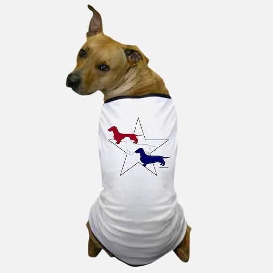 Patriotic Doxies Dog T-Shirt