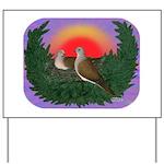 Nesting Doves Yard Sign