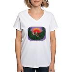 Nesting Doves Women's V-Neck T-Shirt