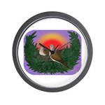 Nesting Doves Wall Clock