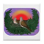 Nesting Doves Tile Coaster