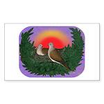Nesting Doves Sticker (Rectangle 50 pk)
