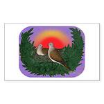 Nesting Doves Sticker (Rectangle 10 pk)