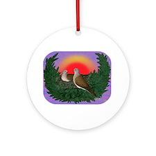 Nesting Doves Ornament (Round)