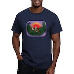 Nesting Doves Men's Fitted T-Shirt (dark)