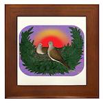 Nesting Doves Framed Tile