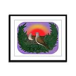 Nesting Doves Framed Panel Print