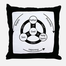 Trinity Circle Throw Pillow