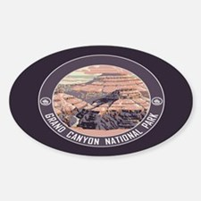 Grand Canyon NP Sticker (Oval)