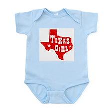 Texas Girl Infant Creeper