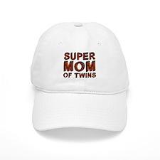 SUPER MOM OF TWINS Baseball Cap