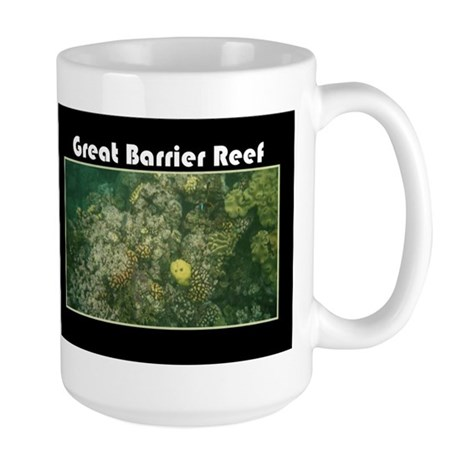 Great Barrier Reef Large Mug