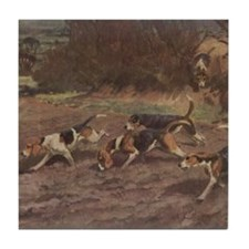 Foxhound Gifts-2 Tile Coaster