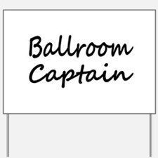 Cute Ballroom dancing Yard Sign