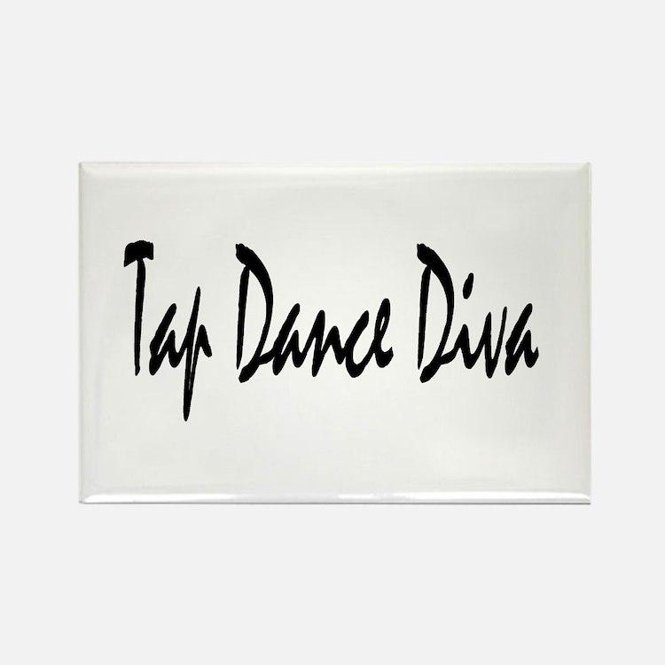 Cute Tap dancer Rectangle Magnet (10 pack)