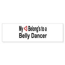 Cute Belly Bumper Sticker