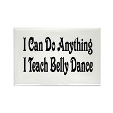 Cute Belly dance Rectangle Magnet