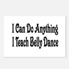 Cool Belly dancing Postcards (Package of 8)