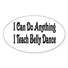 Cute Belly dance Decal