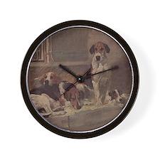 Foxhound Gifts-1 Wall Clock