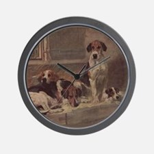 Foxhound Gifts-1 Wall Clock
