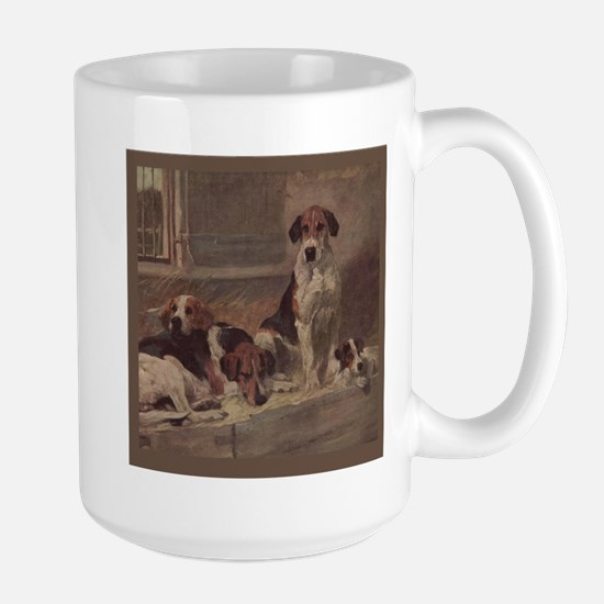 Foxhound Gifts-1 Large Mug