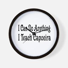 Funny Capoeira Wall Clock