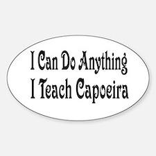 Unique Capoeira Sticker (Oval)