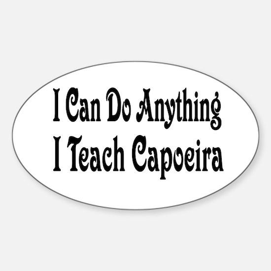 Cute Capoeira Sticker (Oval)