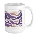 Sunset Wave Large Mug