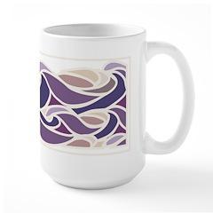 Sunset Wave Large Mug