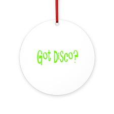 Cute Disco Ornament (Round)