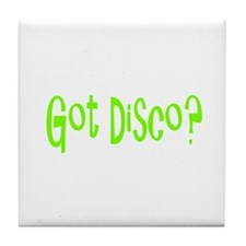 Cute Disco Tile Coaster
