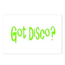 Unique Disco Postcards (Package of 8)