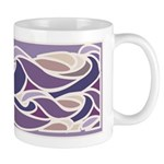 Lavender Sunset Wave Mug