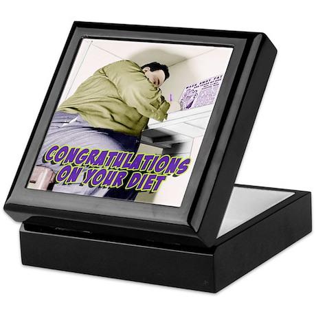 Diet Congratulations Keepsake Box
