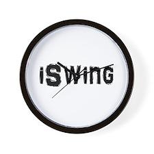 Cute Swinger Wall Clock