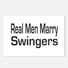 Cute Swinger Postcards (Package of 8)