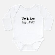 Funny Tango Long Sleeve Infant Bodysuit