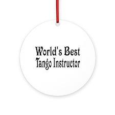 Funny Tango Ornament (Round)