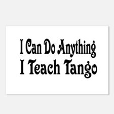 Cute Tango dancers Postcards (Package of 8)