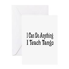 tango31 Greeting Cards