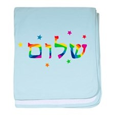 Cute Hebrew baby blanket