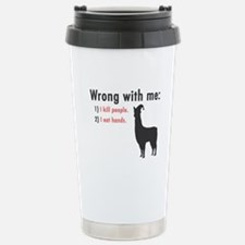 Wrong with Me Stainless Steel Travel Mug