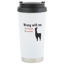 Wrong with Me Travel Mug