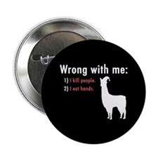 "Wrong with Me 2.25"" Button"