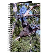 Female Gibbon In A Tree Journal